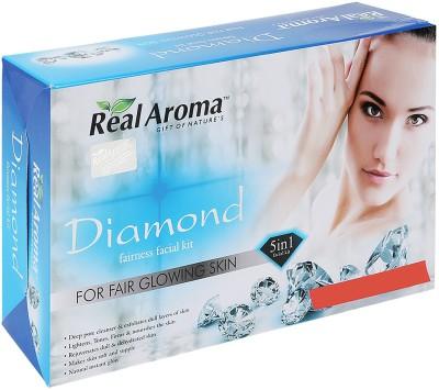 Real Aroma Diamond Fairness Facial Kit 710 g