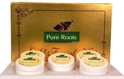 Pure Roots Pureroots Gold Facial Kit 300gm 300 g