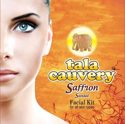 tala cauvery saffron sandal facial kit 160 g