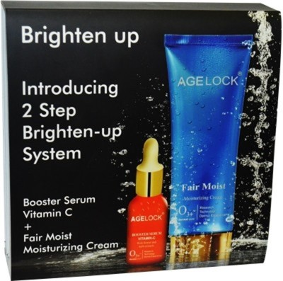 AgeLock Booster Serum Vitamin C + Fair mois moisturizing Cream 80 ml
