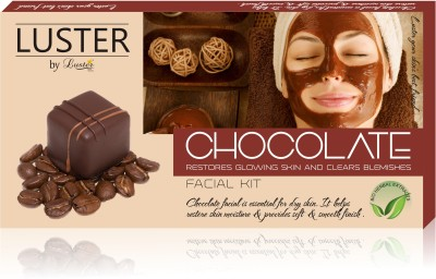 Luster Chocolate Facial kit For Skin Nourishment (New Pack) 175 g