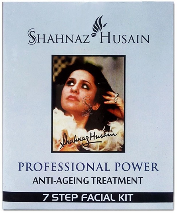 Shahnaz Husain 7 Step Anti Ageing Treatment Facial Kit 60 g(Set of 7)