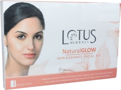 Lotus Natural Glow Skin Radiance Facial Kit