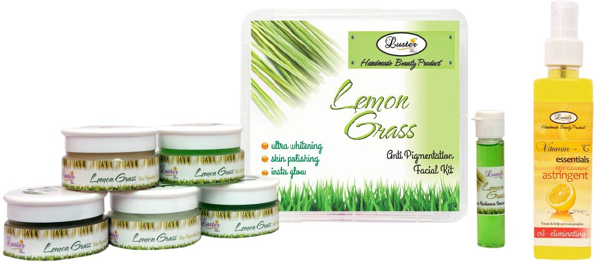 Luster Lemon Grass Facial Kit (Anti-Pigmentation) 285 g(Set of 1)