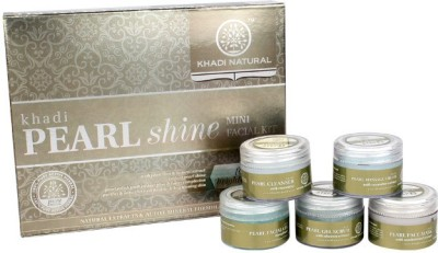 khadi Natural Mini Facial Kit Pearl Shine 75 g