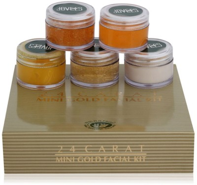 Jovees 24 Carat Gold Facial Mini Kit 75 g