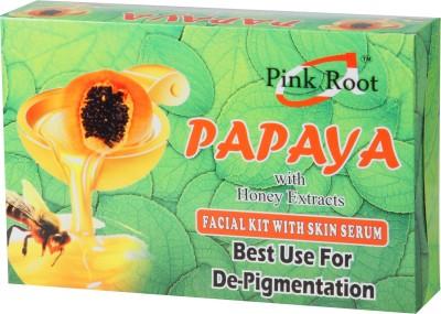 Pink Root Papaya Facial Kit 270 g