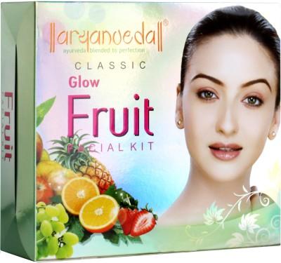 Aryanveda Herbals Glow Fruit Classic Kit 430 gm