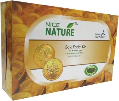 Nice Nature High Quality Gold Facial Kit 270gms 270 g