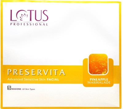 Lotus Professional Advanced Sensitive Whitening Facial Kit 450 g