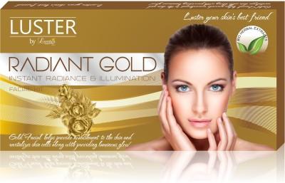 Luster Radiant Gold Facial Kit for Skin Illumination (New Pack) 175 g