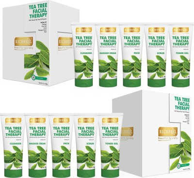 Richfeel Tea Tree Facial Therapy 125g (Pack Of 2) 250 g