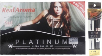 Real Aroma Platinum Ultra Facial Kit 740 g