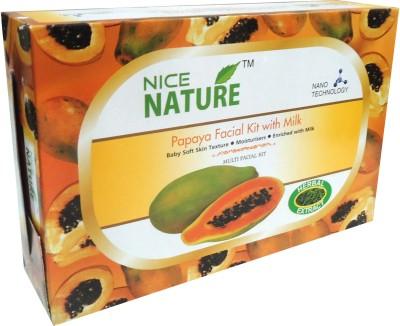 Nice Nature High Quality Papaya Facial Kit 270gms 270 g
