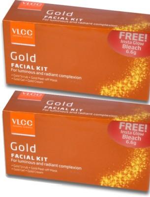 VLCC Gold Facial Kit Pack of 2 93 g