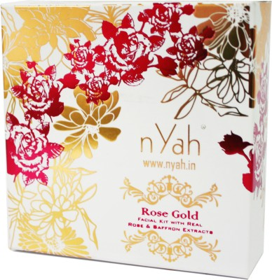 Nyah Rose Saffron Small Facial Kit 7 Steps(Single Facial) 42 g