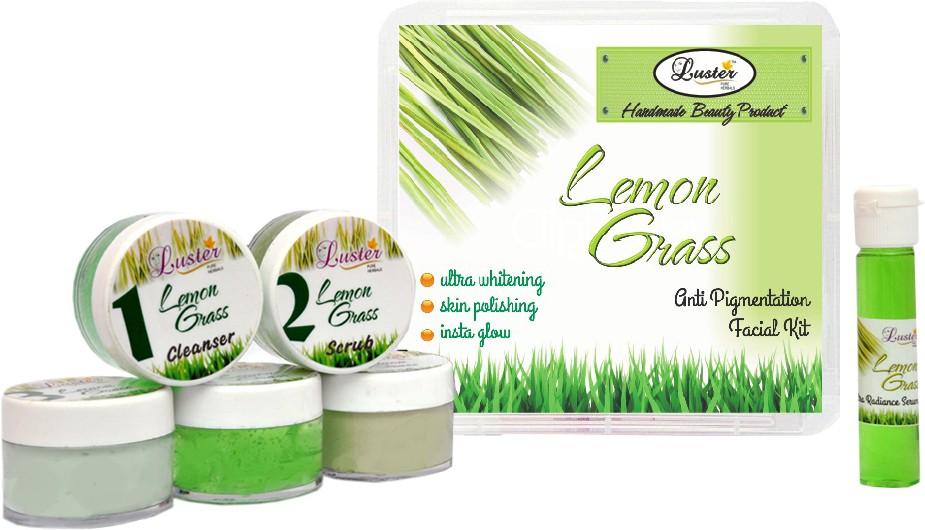 Luster Lemon Grass Facial Kit (Anti-Pigmentation) 150 g(Set of 1)