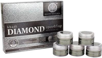 khadi Natural Mini Facial Kit Diamond Sparkling 75 g