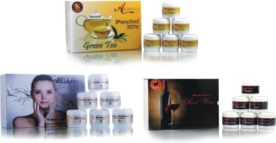 Adidev Herbals Herbal Skin Brightening Fairness Facial Kit (Combo Kit) 960 g