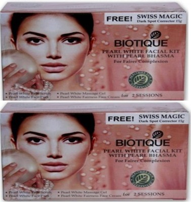 Biotique Pearl Kit Mini With Bhasma Pack of 2(set of 4) 120 g