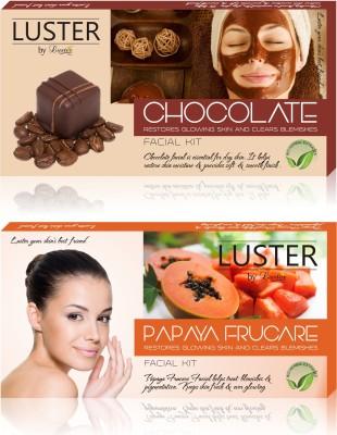 Luster Chocolate & Papaya Frucare Facial Kit (New Pack) 290 g