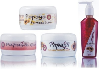 Adidev Herbals Ayurvedic Herbal Papaya Glow Pack