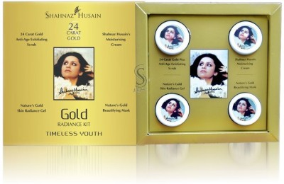 Shahnaz Husain Revival Gold Facial Kit 40 g(Set of 4)