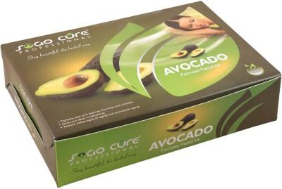 Sogo Cure Avocado Fairness Facial Kit 400 g