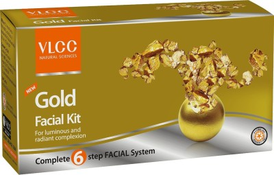 VLCC Gold Facial Kit 60 g(Set of 4)
