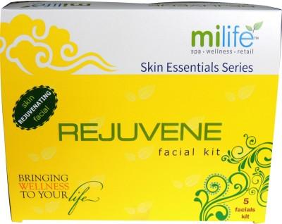 Milife Rejuvene Skin Rejuvenating Facials Kit 100 gms