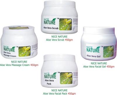 Nice Nature Aloe Vera Facial Kit Parlour 1800 g