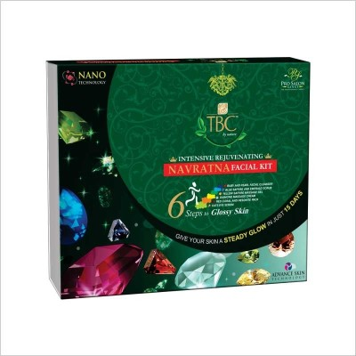 TBC by Nature Intensive Rejuvenating Navratna Facial Kit 260 g