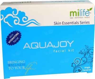 Milife Aquajoy Skin Hydrating Single Facial Kit 20 gms