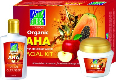 Astaberry Organic Aha Facial Kit 510 g