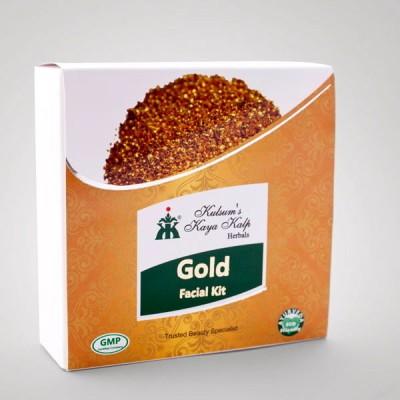 Kulsum's Kaya Kalp 24 Carat Gold Facial Kit 65 g