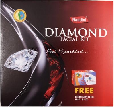Nandini Herbal Care Nandini Diamond Facial Kit, 170g + 75ml 245 g