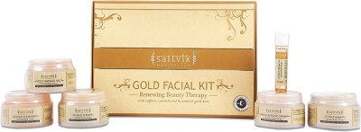 Sattvik Gold Facial Kit 260 g