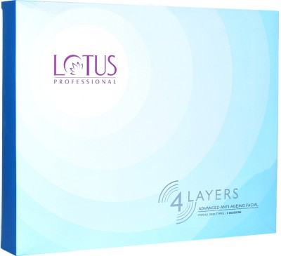 Lotus Professional 4 Layers Advanced Anti- Ageing Facial Kit 240 g