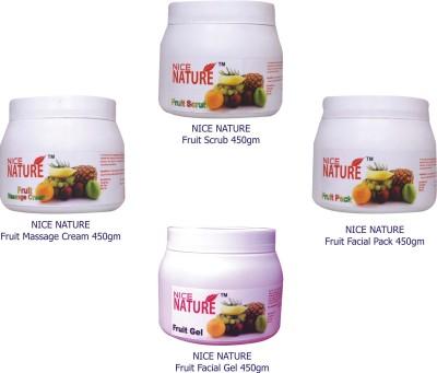 Nice Nature Fruit Facial Kit Parlour 1800 g