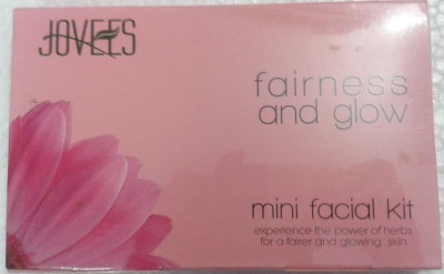 Jovees Fairness and glow mini facial kit 63 g