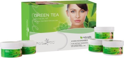 Herbal Tree Green Tea Facial Kit 430 g