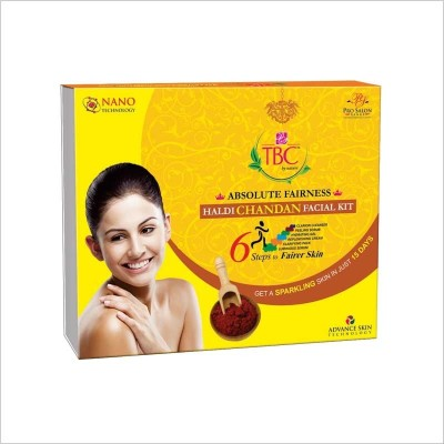 TBC by Nature Absolute Fairness Haldi Chandan Facial Kit 260 g