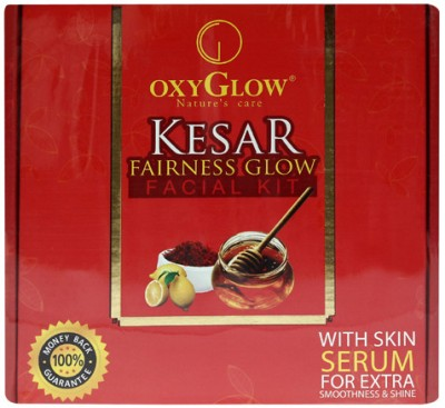 Oxy Kesar Fairness Glow Facial Kit 165 g