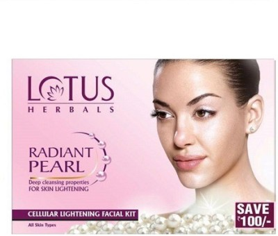 Lotus Radiant Pearl Cellular Lightening Facial Kit 37 g