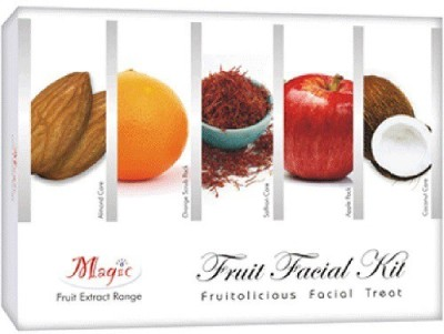 Nature's Essence Fruit Facial Kit 200 g(Set of 5)