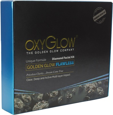 Oxyglow Golden Glow Flawless Daimon Facial Kit 260 g