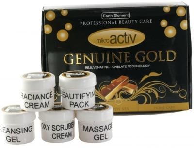 MikroActiv Genuine Gold Facial Kit 10 g