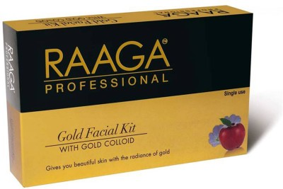 Raaga Professional Gold Facial Kit with Gold Colloid 45 g(Set of 7)