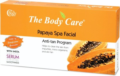 The Body Care Papaya Spa Facial Anti-tan Program Facial Kit Large 200 g