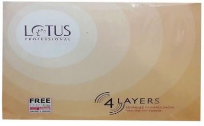 Lotus Professional 4 Layers Advanced Radiance FacialKit 378 g
